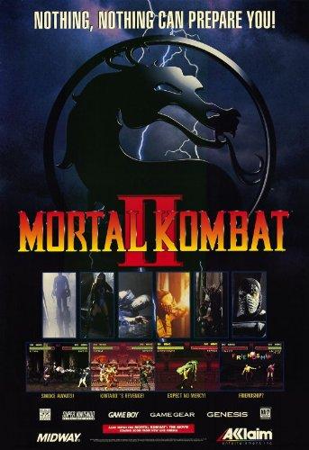 Mortal Kombat (VG) Poster Movie 11x17 (Mortal Kombat Movie Poster)
