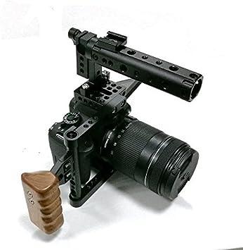 Camvate Dslr Kamerakäfig Mit Holzgriff Für 600d 70d Elektronik
