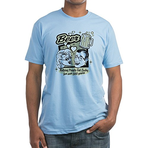 truly-teague-fitted-t-shirt-beer-helping-people-get-lucky-baby-blue-xl