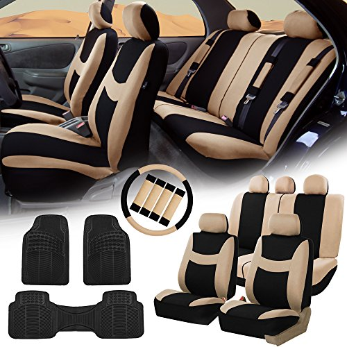 car seat cover floor set beige - 9