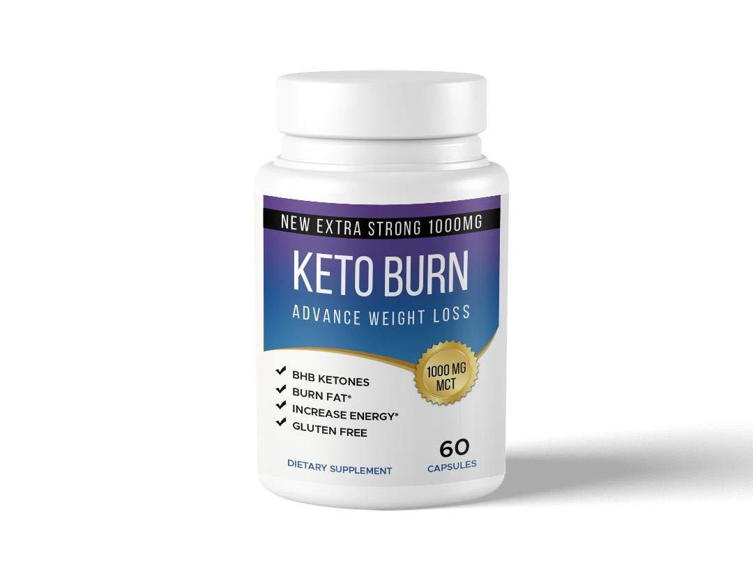 Keto Burn Keto Pills - Ketogenic Fat Burner - for Women & Men - Promotes Healthy Energy Levels - Burn Belly Fat Fast - Carb Blocker - Keto Burn - 60 Capsules …