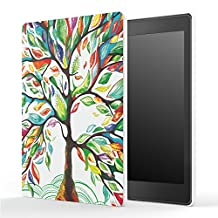 "Kobo Aura One Case, [Ultra Compact] MoKo Premium Protective Slim Lightweight Cover Case, with Auto Wake / Sleep for Kobo Aura One 7.8"" eReader 2016 Release, Lucky Tree"