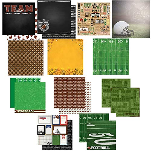 Custom Bundle of Football Sports Themed 12