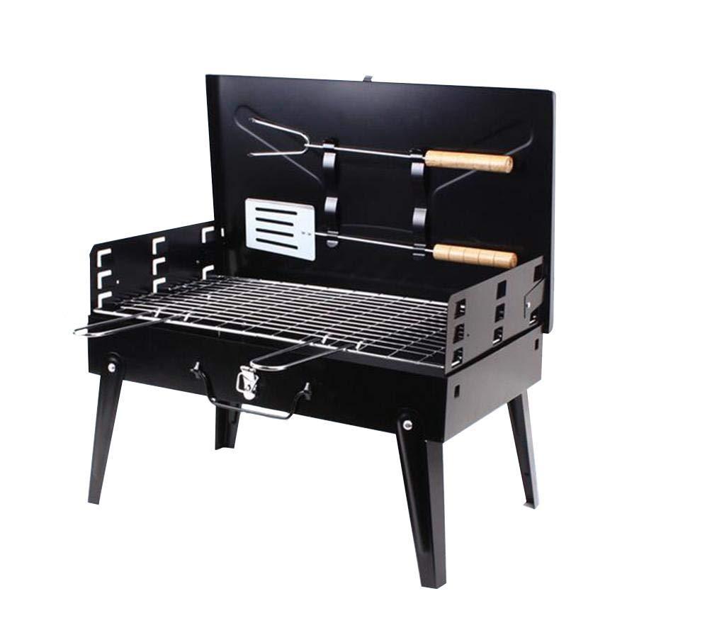 PIO Portable Faltkohle Barbecue Grill für Outdoor Camping, Picnics
