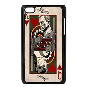 Chinese James Bond 007 Personalized Phone Case for iPod Touch 4,custom Chinese James Bond 007 Case