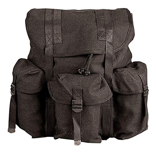 Rothco Canvas G.I. Style Soft Pack, Black