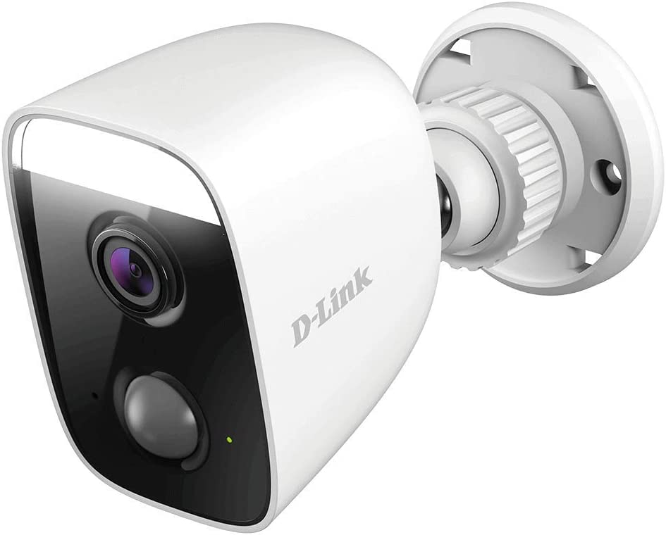 D-Link Outdoor Security Spotlight WiFi Camera, Built in Smart Home Hub Security Surveillance in Full HD, Works with Alexa (DCS-8630LH-US)