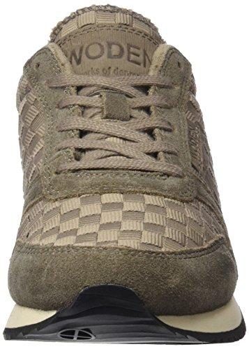 WS Beige Mujer para Zapatillas Woden Ydun Sandstone 65qw1X1UH