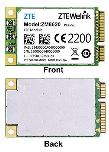 ZTE ZM8620 4G LTE w/ 3G Fallback Module: MiniCard PCI-E ATT T-Mobile Certified by ZTE