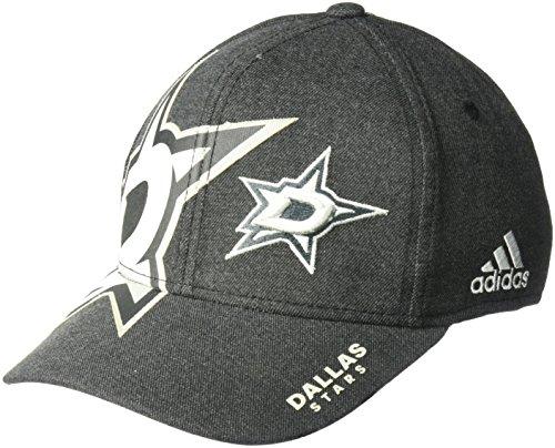 NHL Dallas Stars Adult Men Pro Authentic T&T Structured Flex, Large/X-Large, Black