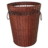 YZL/ Storage box/basket/clothes baskets/resumption clothes storage basket of dirty clothes basket/clothes/clothes basket , small brown