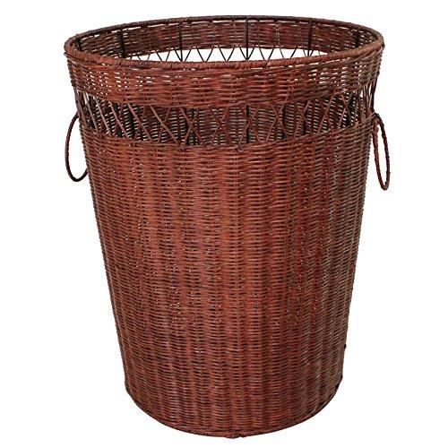 YZL/ Storage box/basket/clothes baskets/resumption clothes storage basket of dirty clothes basket/clothes/clothes basket , small brown by KAIMENDAJI