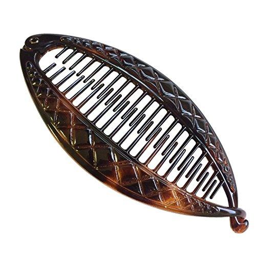 french crisscross cellulose tortoise shell