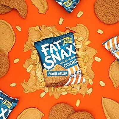 Fat Snax Galletas - baja en carbohidratos, Keto, y sin azúcar ...
