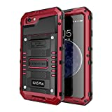 iPhone 6S Plus Waterproof Case, Seacosmo Full Body Protective Shell with Built-in Screen