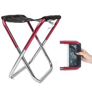 AZX Silla Portátil Plegable, Taburete Plegable de Camping ...