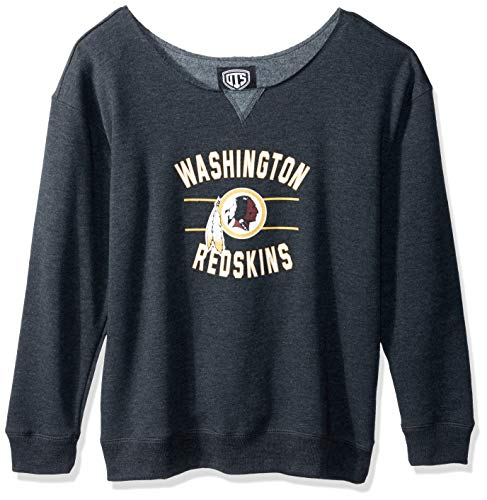 sports shoes 46741 cdf4e NFL Washington Redskins Women's OTS Singleback Fleece Pullover, Rush  Valley, Large