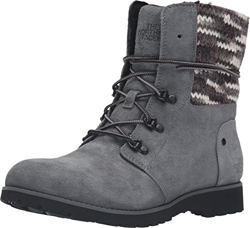 The North Face Women's Ballard Lace II MM Boot,Iron Gate Grey/TNF Black Multi Kn by The North Face