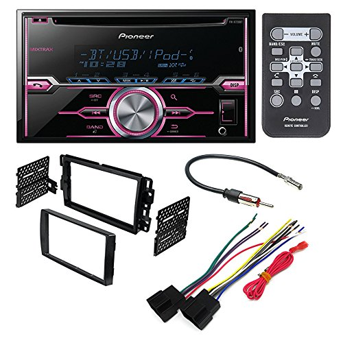 PIONEER FH-X720BT AFTERMARKET CAR STEREO DASH INSTALLATION KIT W/ WIRING HARNESS ANTENNA SELECT BUICK CHEVROLET GMC HUMMER PONTIAC SATURN SUZUKI by PIONEER, METRA, AMERICAN INTERNATIONAL, SCOSCHE