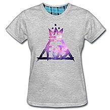 Fashion-Clubs Women's Fall Out Boy Rock T-shirt