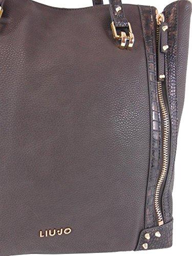 Venta Barata Populares Bajo Costo De Descuento Borsa Liu Jo Donna Orione Shopping bag marrone I3/26 Salida 100% Garantizado Calidad Para La Venta Libre Del Envío Compra Original ajsyg6s