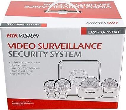 HIKVISION Turbo HD 4 Channel CCTV Camera Kit