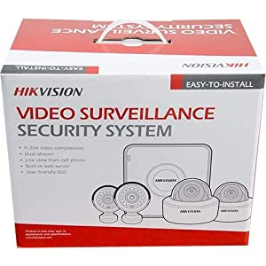 Hikvision CCTV Camera 4 Channel