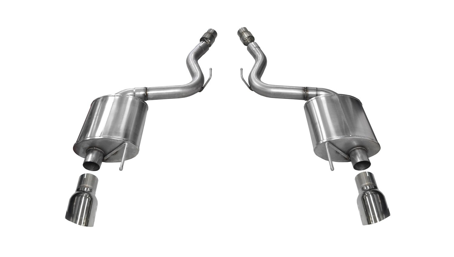 Ford Mustang GT Corsa 14329 Axle Back Exhaust