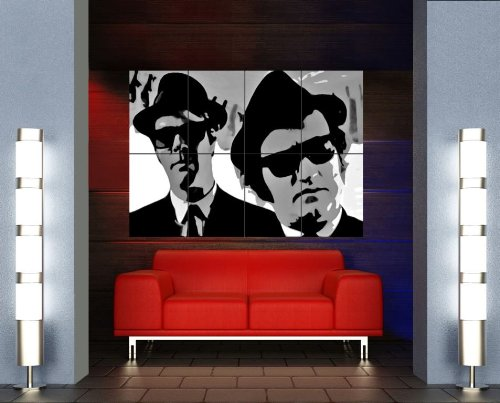 BLUES BROTHERS GIANT ART POSTER X148 by Doppelganger33LTD