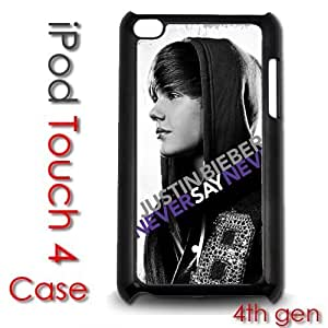 IPod Touch 4 4th gen Touch Plastic Case - Justin Bieber Never Say Never