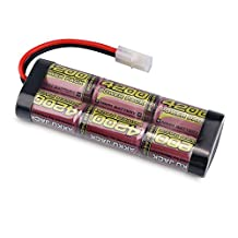 7.2V MELASTA 4200mAh NiMH High Power Battery Packs Continues Discharge Rate 10C with Tamiya Connector for RC Racing Cars