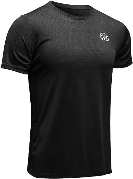 MEETWEE T-Shirt de Sport Homme, Baselayer