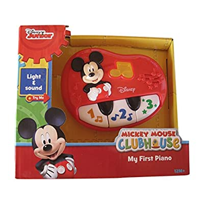 Disney Mickey Mouse My First Piano: Toys & Games