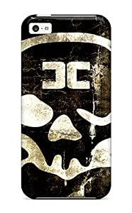 Stevenson Elizabeth's Shop New Style High Quality Skull Tpu Case For Iphone 5c