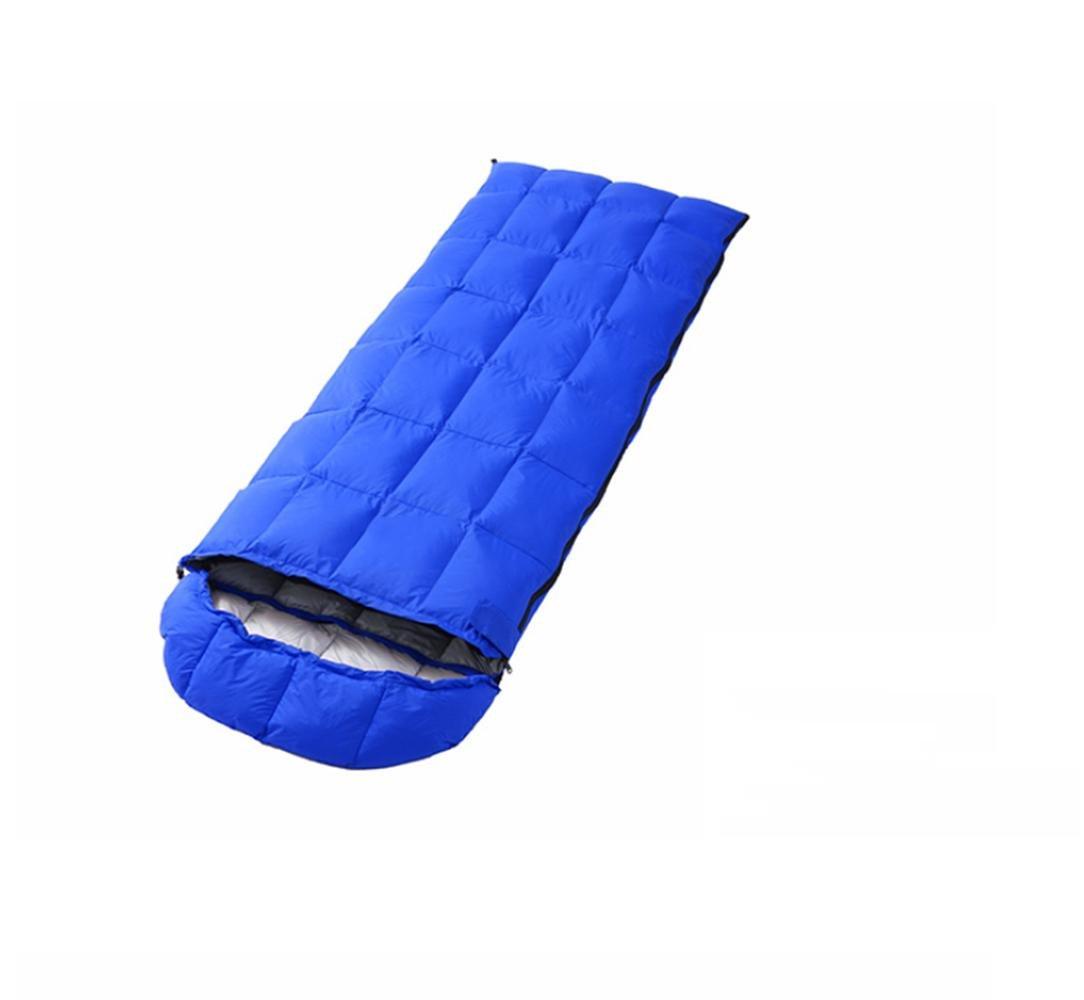 Sacos De Dormir Al Aire Libre Luces De Invierno Cálido Envolvente Plumas Nieve Alpino Camping Bolsas De Dormir, Azul: Amazon.es: Deportes y aire libre
