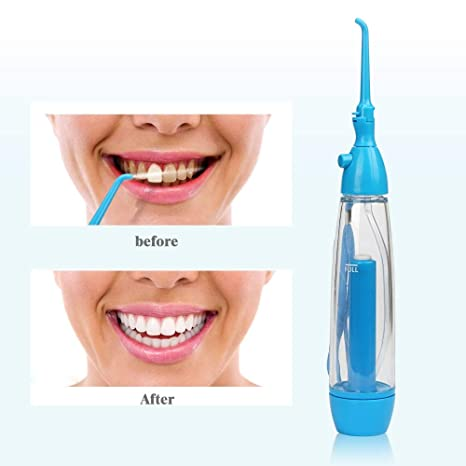 ZQG BEAUTY Portable Dental Irrigator Oral Cuidado Agua presión Limpiador Diente Blanco Portable higiene Spray Limpieza irrigador Professional Desktop: ...