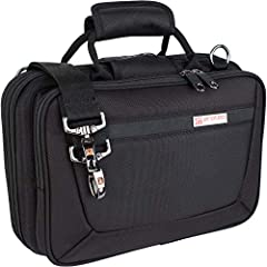 Protec's Slimline Clarinet PRO PAC cases are lightweight and feature a snug fit molded interior lined with soft velvet to completely protect your instrument. Designed to fit Bb Clarinets - this case also features a large gusseted front pocket...