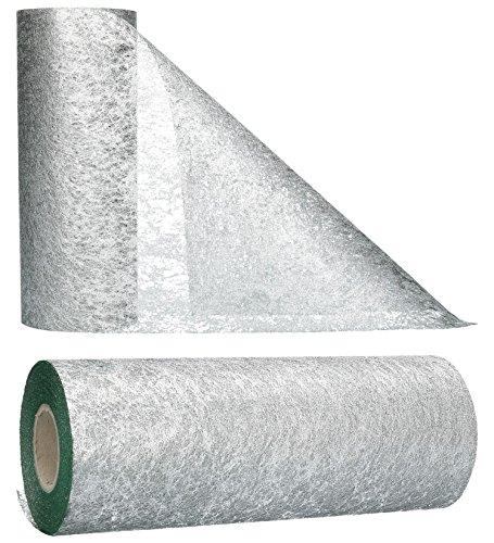 AmaCasa - Camino de mesa no tejido, cinta de mesa, no tejida, para boda, comunion, 23 cm/25 m