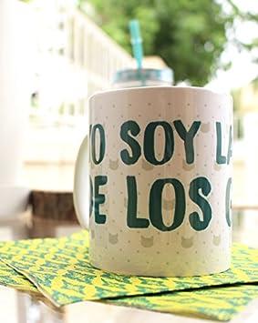 """ThePetLover - Taza""""YO SOY LA LOCA DE LOS ..."""