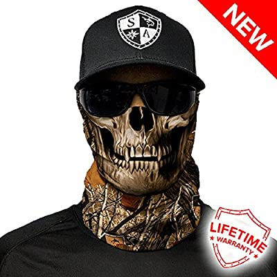 Salt Armour Face Mask Shield Protective Balaclava Alpha Defense Perfect For Fishing, Hunting, Hiking, Motorcycle Riding, Airsoft, Paintball, Camping, Canoeing, Kayaking & Other Outdoor Activities