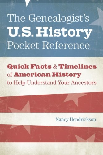The Genealogist's U.S. History Pocket