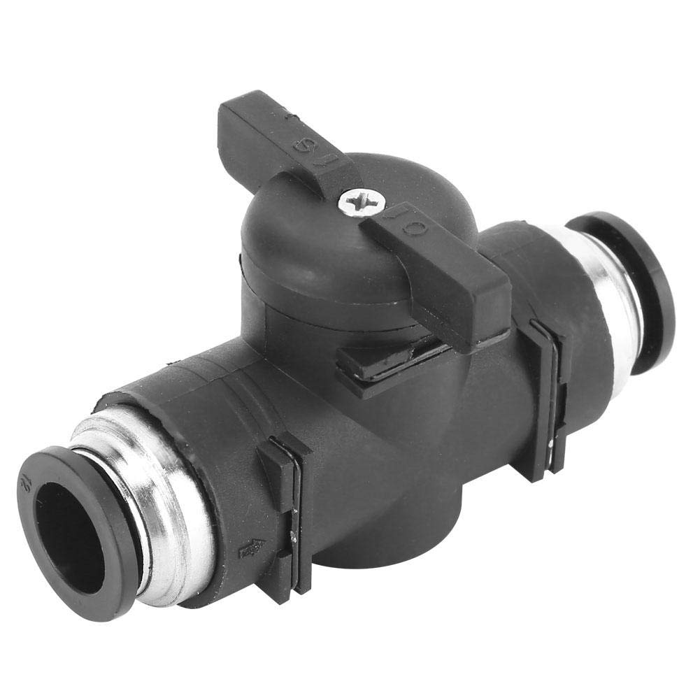 Fast Self-Locking Double-Sided Manual Connector with Good Airtightness Quick Industrial Connecting Tool BUC-12 Pneumatic Regulating Valve
