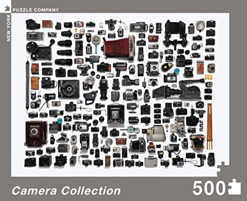 New York Puzzle Company - Jim Golden Camera Collection - 500 Piece Jigsaw Puzzle