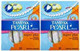 Tampax Pearl Tampons With Plastic Applicators, Super Plus Absorbency 18 ea (Pack of 10)