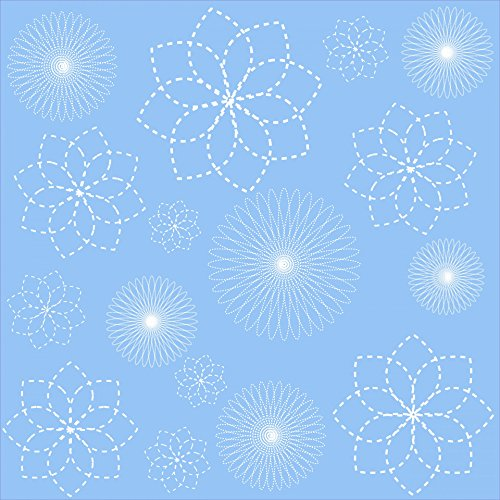 (Home Comforts Laminated Poster Floral Spirals Wallpaper Background Poster Print 24x 36)