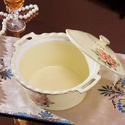 Keramische met deksel Pot van de Soep, Household Plus High Anti-Overflow Soup Pot Noodle Pot HAOSHUAI