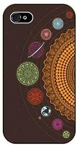 iPhone 5C Solar System, Art - black plastic case / Space, Stars, Fantasy