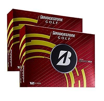 BRIDGESTONE B330-RX White 3-Piece Tour Distance & Control Golf Balls | 2 Dozen