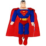 """DC Comics Super Heroes Superman 18"""" Plush Doll Toy with Molded Head"""