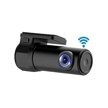 kasit WiFi HD 1080P mini Vehículos Cámara Video Grabadora Oculta Dash Cam con visión nocturna Sensor
